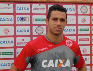 Júnior Timbó - Meia do América-RN (Foto: Alexandre Filho/GloboEsporte.com)