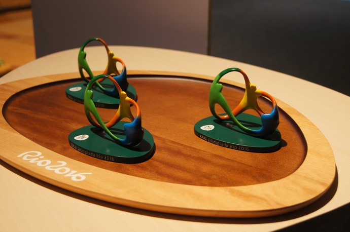 símbolo, Olimpíada, Paralimpíada, Rio 2016 (Foto: Thierry Gozzer)