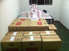 PM de Prata prende dupla e apreende mais de mil maços de cigarros