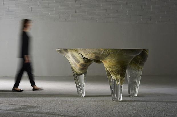 Os móveis-escultura de Joseph Walsh (Foto: James Harris)