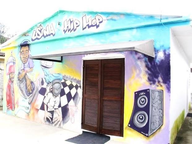 Espaço de Hip Hop fica em Guarujá (Foto: Prefeitura de Guarujá)