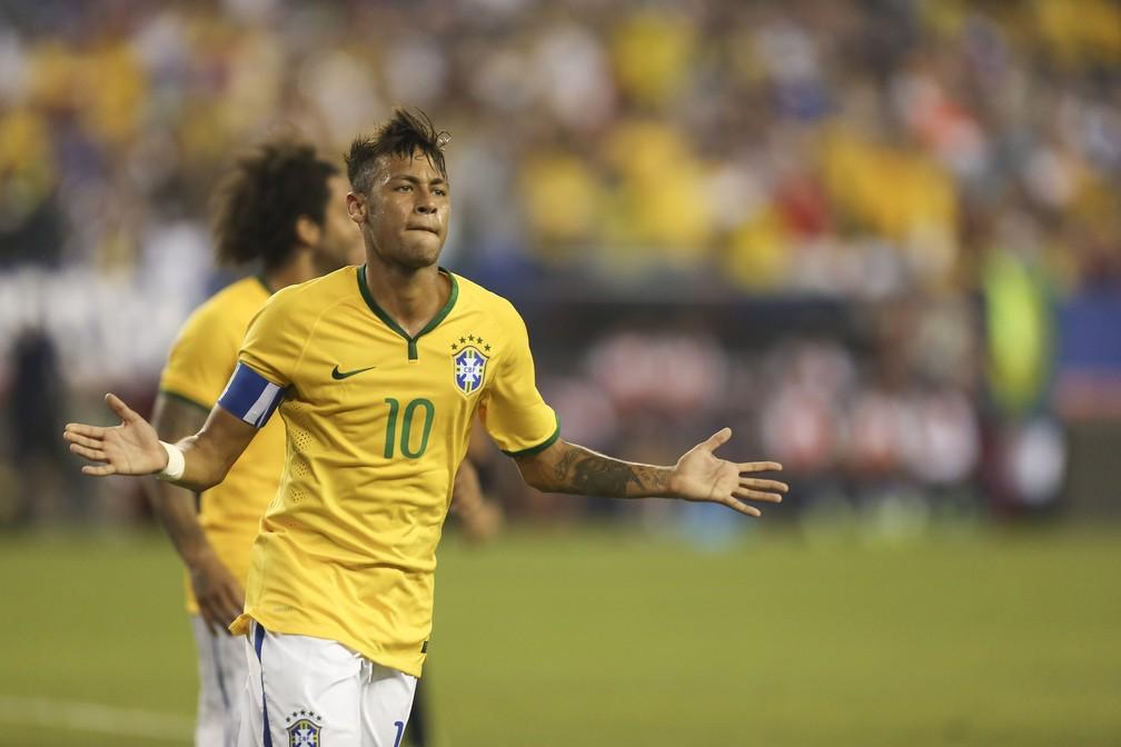 Neymar participou de 12 dos 32 gols da seleção brasileira nas Eliminatórias para a Copa do Mundo da Rússia (Foto: Leo Correa / MoWA Press)