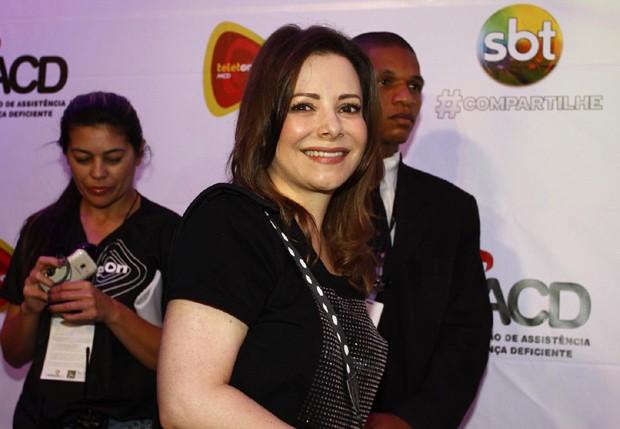 Noely, mãe de Sandy (Foto: AgNews)