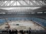 Operário sofre acidente e morre em obras de estádio para a Copa 2018