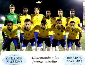 Seleção brasileira Brasil e Valencia torneio de valenca (Foto: Divulgação)
