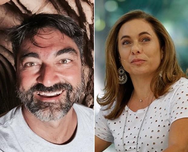 Zeca Camargo e Cissa Guimarães vão tomar conta da Casa de Cristal na ausência de Ana (Foto: Mais Você/TV Globo)