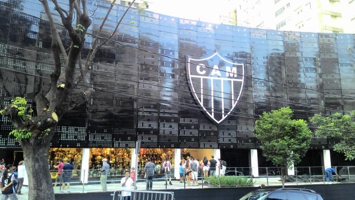 Nova sede do Atlético-MG (Foto: Pedro Souza)