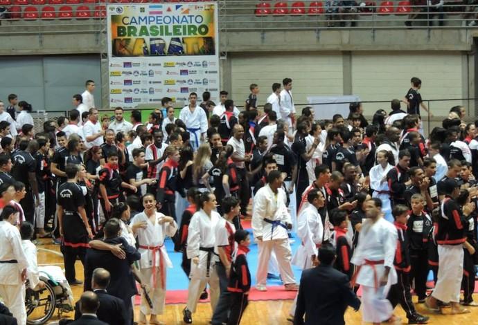 Caratecas Campeonato Brasileiro Uberlândia 2 (Foto: Wagner Gomes / Arquivo Pessoal)