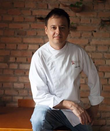 Fábio Vieira, chef do Micaela (Foto: Lufe Gomes)