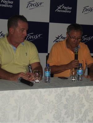 Eduardo Shafer, presidente da Federação Paraibana, apoia reeleição de Carlos Nunes na CBB (Foto: Silas Batista / Globoesporte.com/pb)