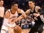 Westbrook fica mais perto de recorde, mas Spurs vencem e se recuperam