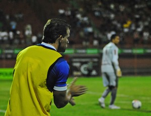 Túlio Maravilha, atacante da Vilavelhense (Foto: Henrique Montovanelli/Desportiva Ferroviária)