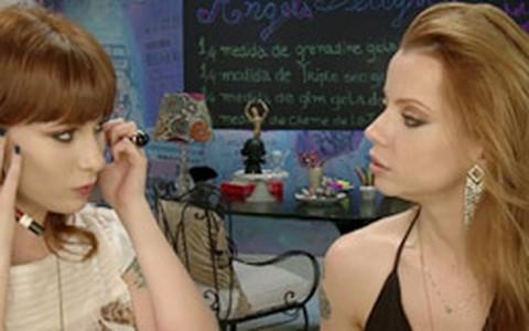 Maquiagem poderosa com sombras dourada e preta: aprenda a fazer