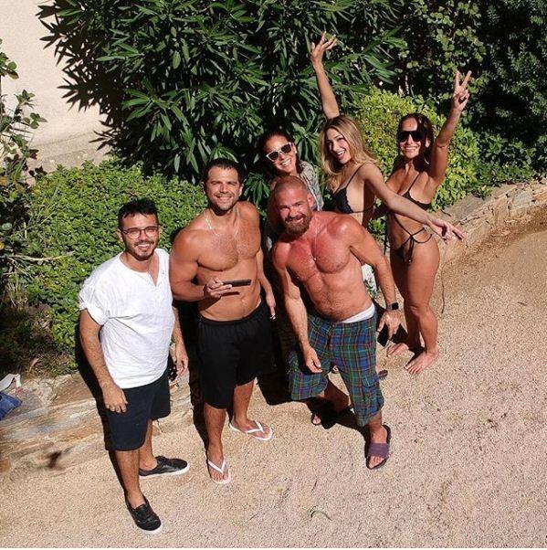 Duda Nagle, Daniel Hernandez, Bruna, Sasha e Sabrina (Foto: Reprodução/ Instagram)