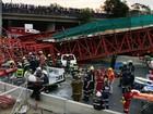 Ponte temporária desaba na África do Sul e deixa mortos