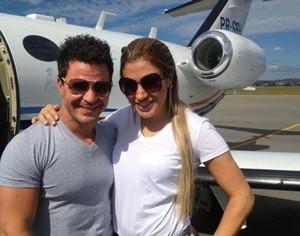 Adriana e Eduardo Costa (Foto: Reprodução/Reprodução)