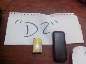 Na cela D2 foi achada uma bateria artesanal (Foto: Guerard Castro / Portal Guajará)
