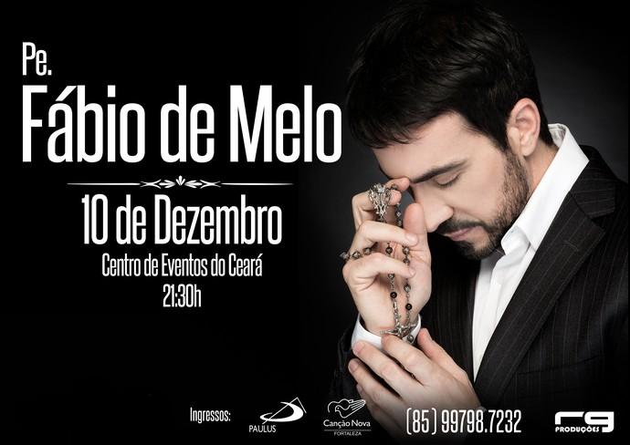 Padre Fábio de Melo se apresenta em Fortaleza no sábado, 10/12 (Foto: Divulgação)