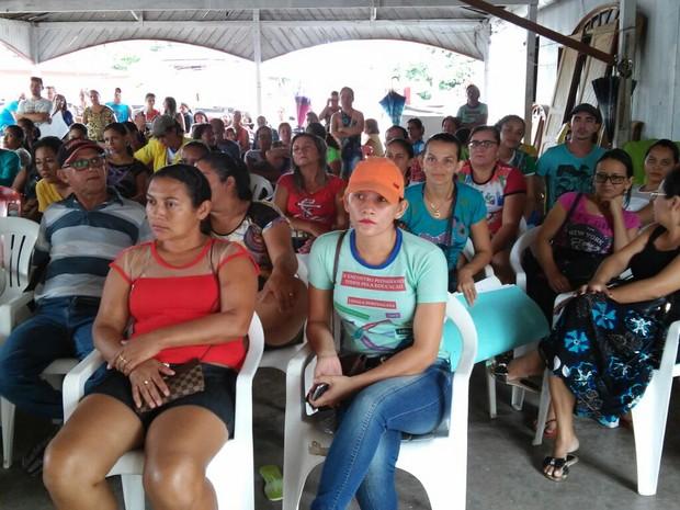 Decisão decisão foi adotada em uma assembleia no dia 22 de outubro (Foto: Sintepp-subsede Curuá/Divulgação)