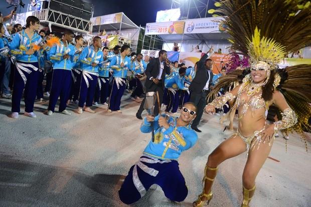 Argentina no samba  (Foto: Diego Mendes / Gangazumba Produções)