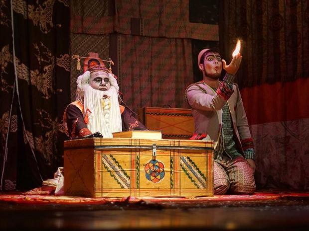 Instituto Ricardo Brennand tem apresentação especial da peça 'Haru - A primavera do aprendiz' (Foto: Sílvio Botelho / Divulgação)