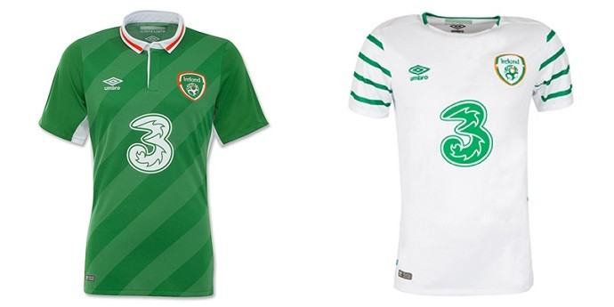 Camisas Eurocopa irlanda