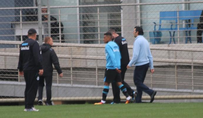 pedro rocha gremio (Foto: Eduardo Moura/GloboEsporte.com)