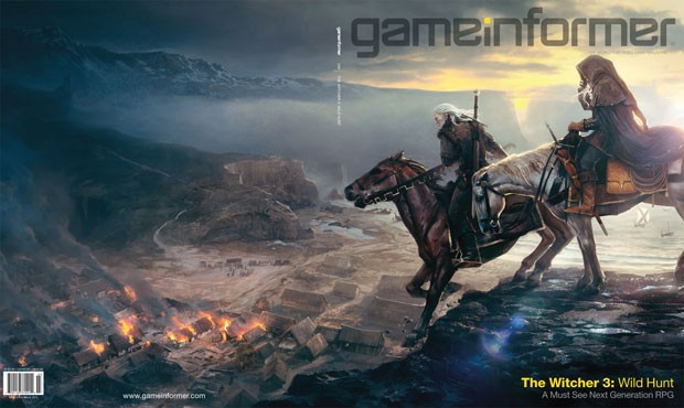 Capa da revista &quot;GameInformer' revela 'The Witcher 3: Wild Hunt' (Foto: Divulga&#231;&#227;o)