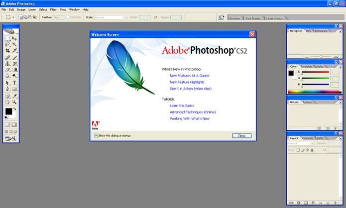 Adobe Photoshop CS2 (Foto: Divulgação)