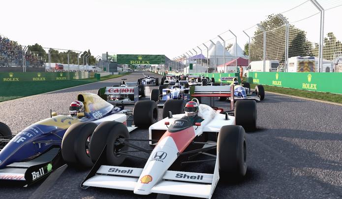F1 2017 (Foto: Reprodução / TechTudo)