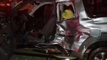 Motorista de carro desrespeita sinalização  (Rodrigo Kout/Notícias Noroeste)