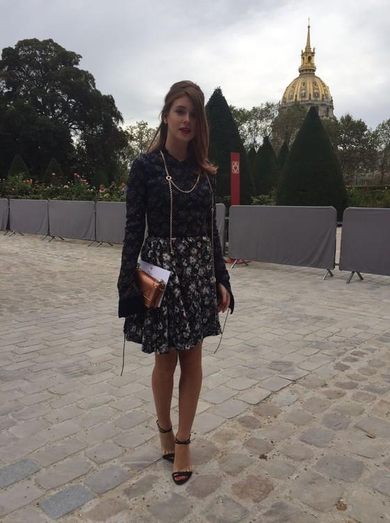Marina conta que fica em Paris até a quarta-feira da próxima semana, dia 5 (Foto: Bruno Astuto)