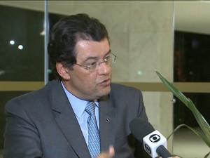 Gnews Eduardo Braga  (Foto: Reprodução GloboNews)