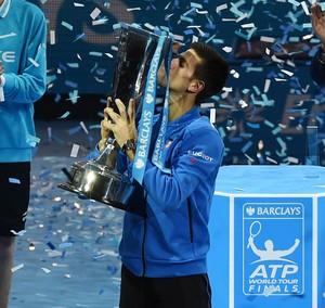 Novak Djokovic campeão atp finals tênis (Foto: Reuters)