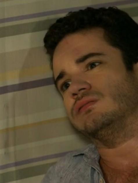 Thiago Mendonça em cena como Felipe (Foto: Reprodução)