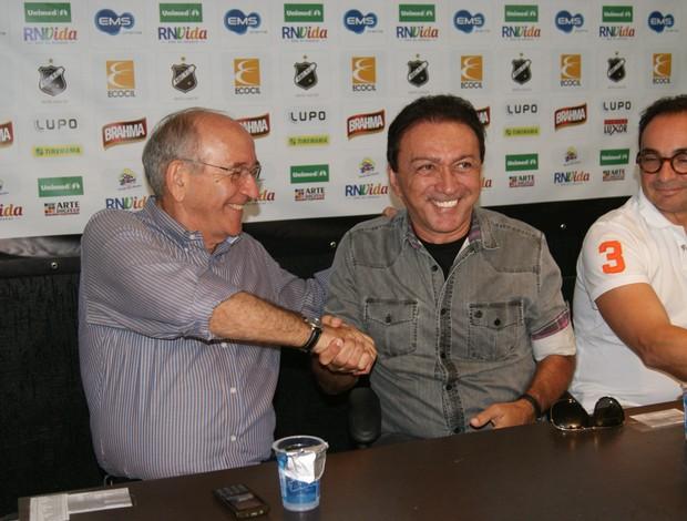 Ferdinando Teixeira e Rubens Guilherme, ABC (Foto: Augusto Gomes)