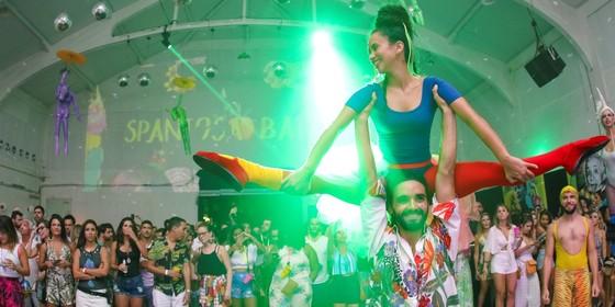 O Spanta Nenén é um dos principais blocos do Carnaval carioca (Foto: Tarso Ghelli)