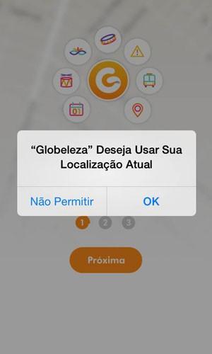 Aplicativo 'Globeleza'. (Foto: Divulgação/Globo)