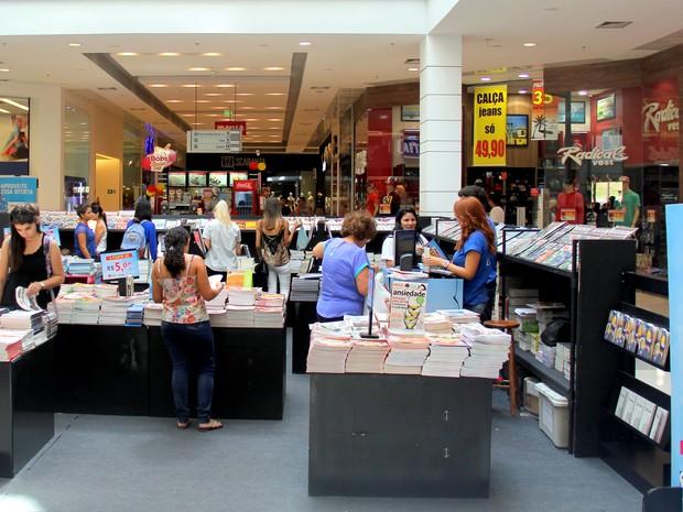 Na feira os consumidores terão acesso a mais de 500 obras (Foto: Atua Agência/Divulgação)