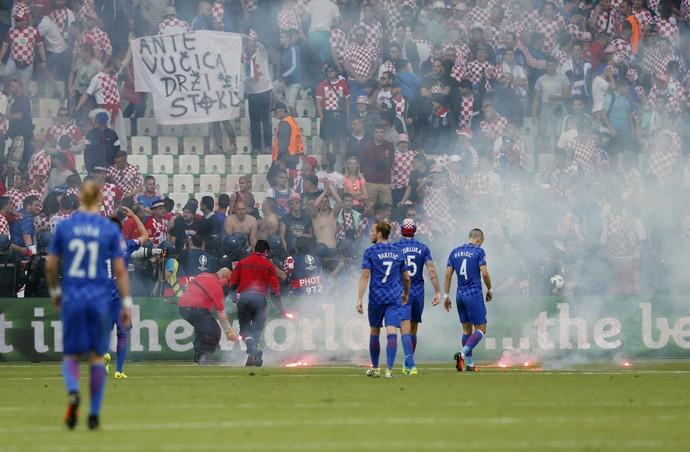 República Tcheca x Croácia (Foto: Reuters)