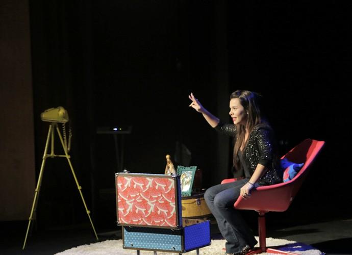 Fernanda Souza conta a história de sua vida (Foto: Raphael Almeida/ Gshow)