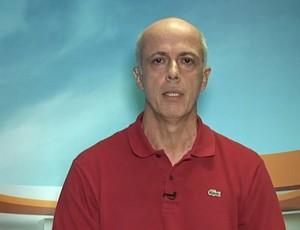 Wallim Vasconcellos, vice-presidente de futebol do Flamengo, no Arena SporTV (Foto: Reprodução SporTV)