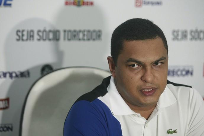 Marco Antônio Pina, o Magnata, diretor de futebol do Remo (Foto: Tarso Sarraff/O Liberal)