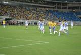 Com gol de Petkovic, Brasil empata com Argentina na Arena das Dunas