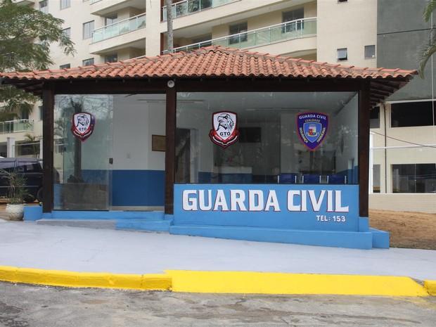 O posto 24 horas no Parque Hotel faz parte do conjunto de ações que visam melhorar a segurança no município (Foto: Marcelo Fiqueiredo/Ascom)