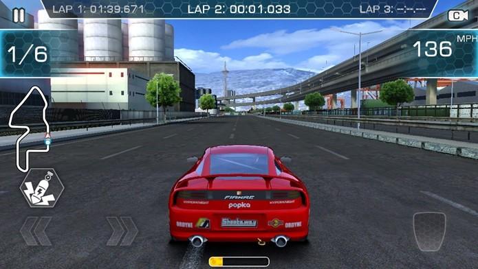 Ridge Racer debuta no Android com Slipstream (Foto: Divulgação)