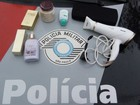 Policiais recuperam parte de objetos furtados de salão de beleza de Biritiba