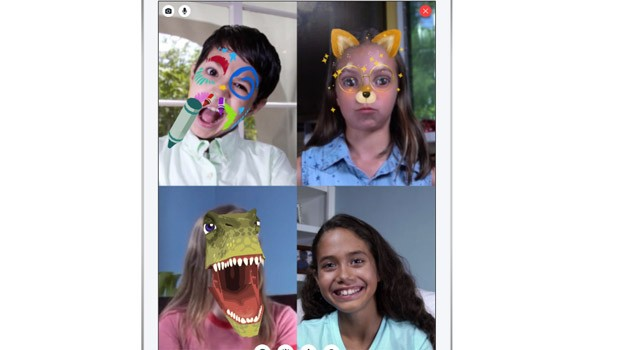 Aplicativo Messenger Kids, do Facebook, permite interação entre as crianças (Foto: Divulgação/Facebook)