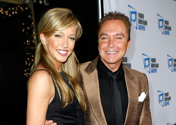 Katie Cassidy e David Cassidy (Foto: Getty Images)