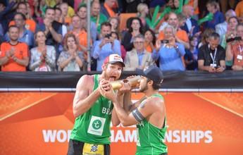 De virada, Alison e Bruno conquistam Mundial e 2ª vaga olímpica para o país
